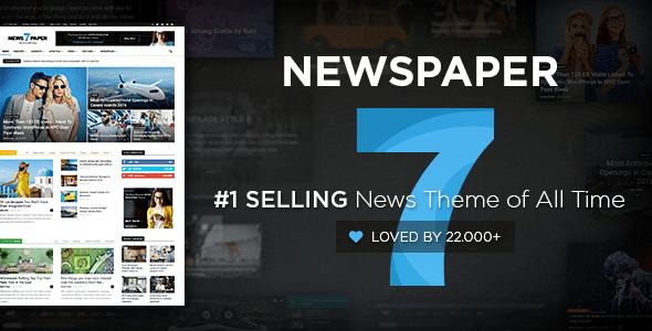 newspaper wordpress multipurpose theme by tagdiv