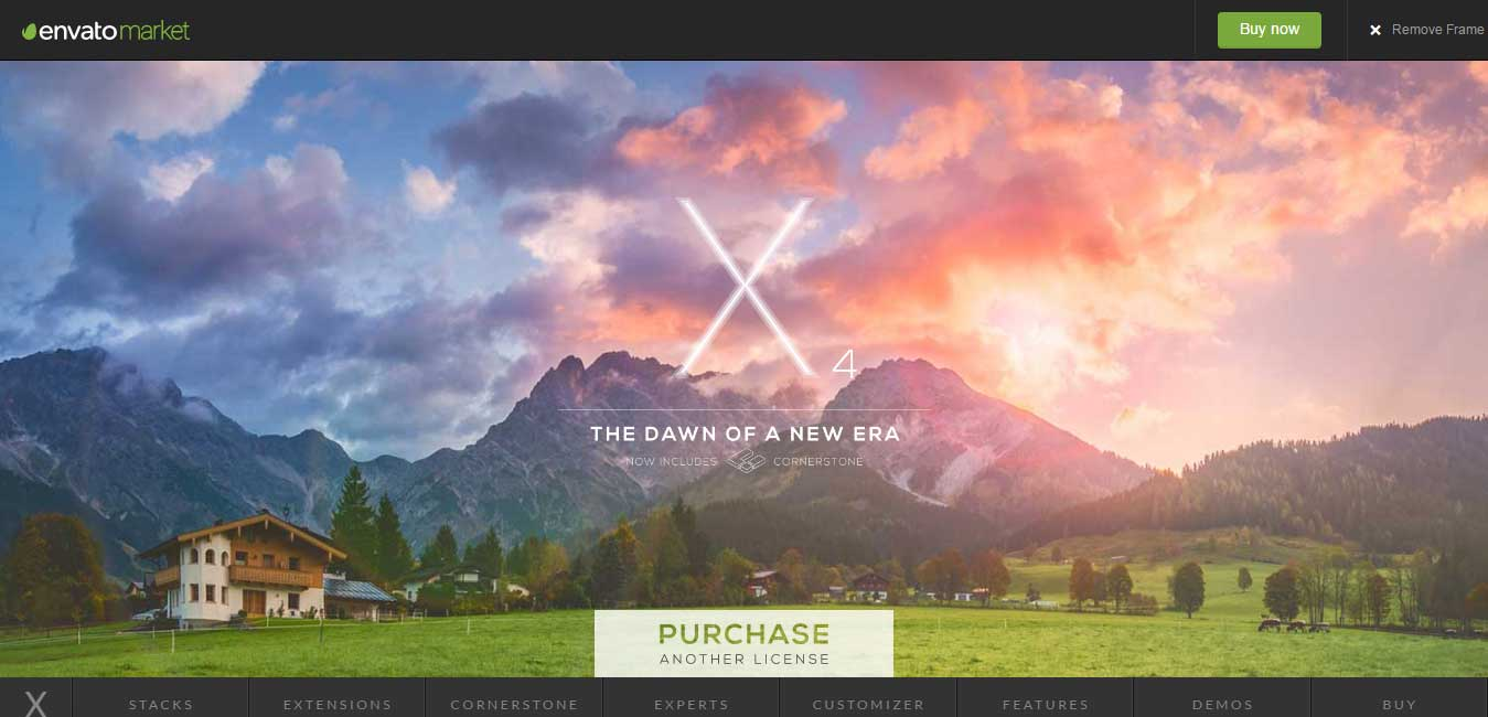 X The Theme wordpress multipurpose theme ThemeForest