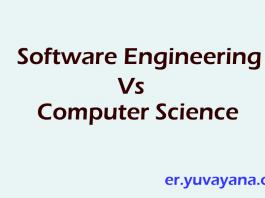 Software Engineering Vs Computer Science Engineering images