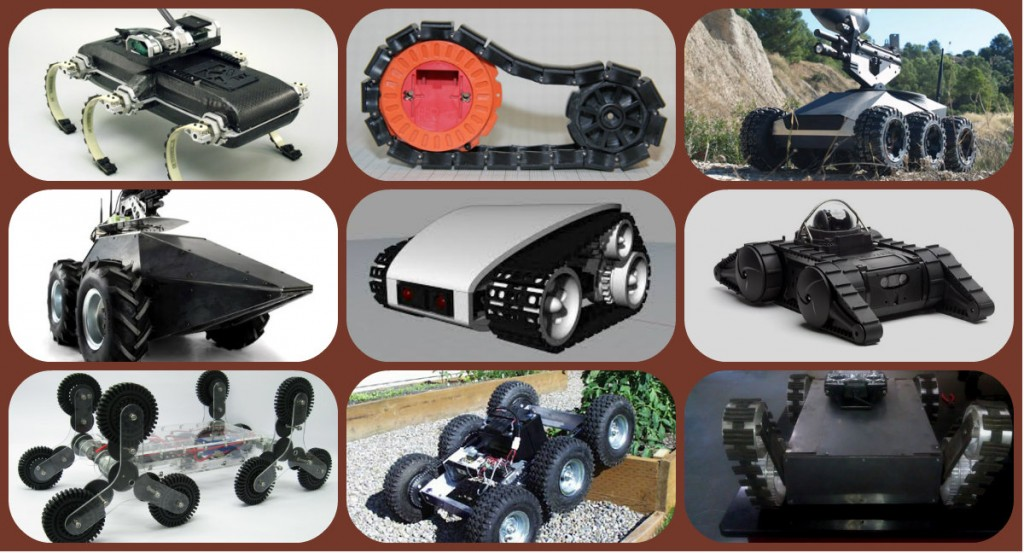 multi-terrain robot
