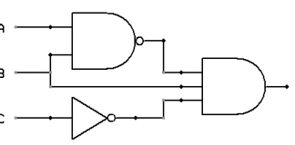 Logic circuit diagram