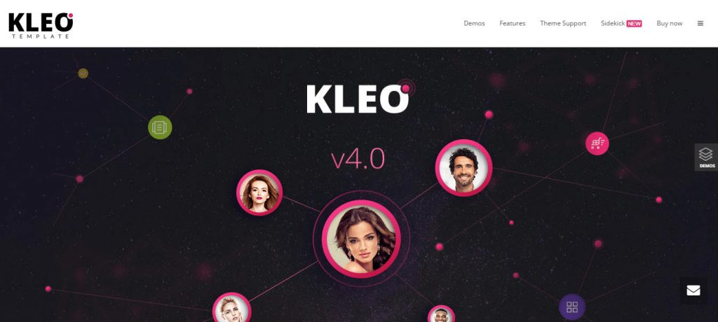 WordPress Premium multi purpose Theme KLEO Template