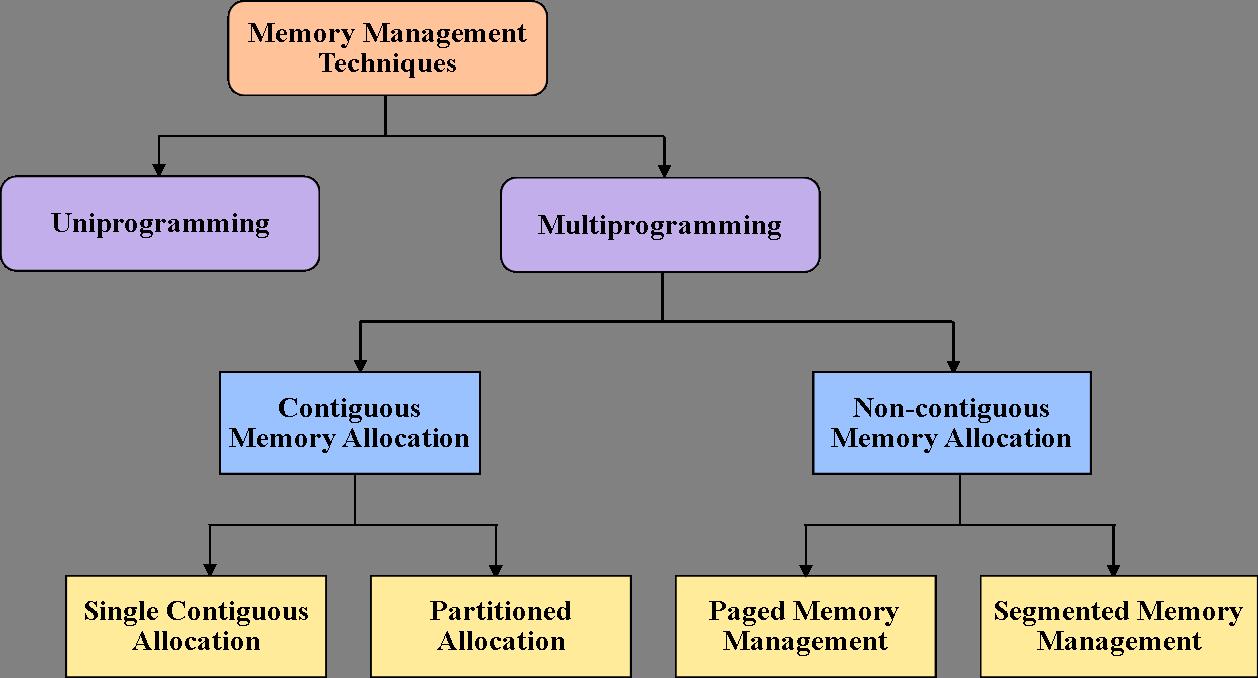 Memory Management Techniques